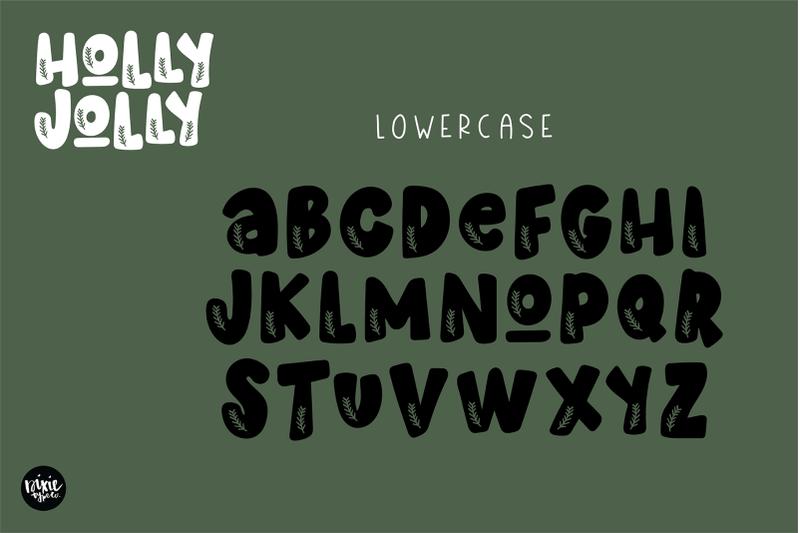 holly-jolly-a-christmas-font