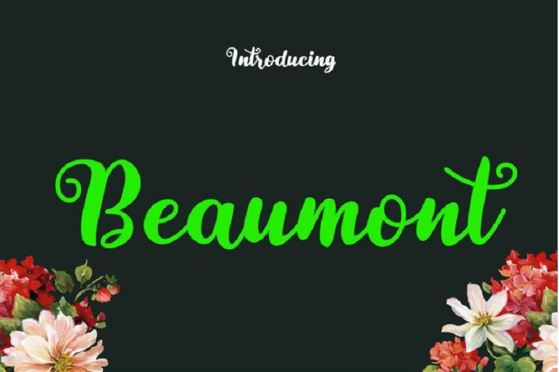 beaumont-font