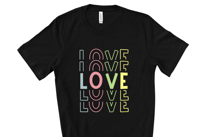 rainbow-fun-stacked-font