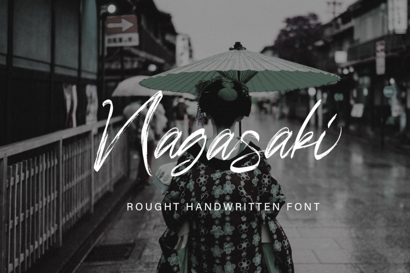 nagasaki-brush-script-font