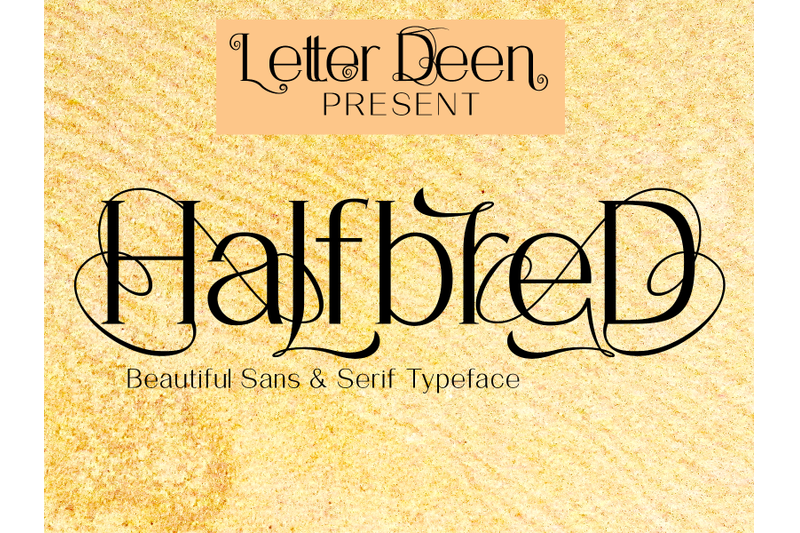 halfbred-font