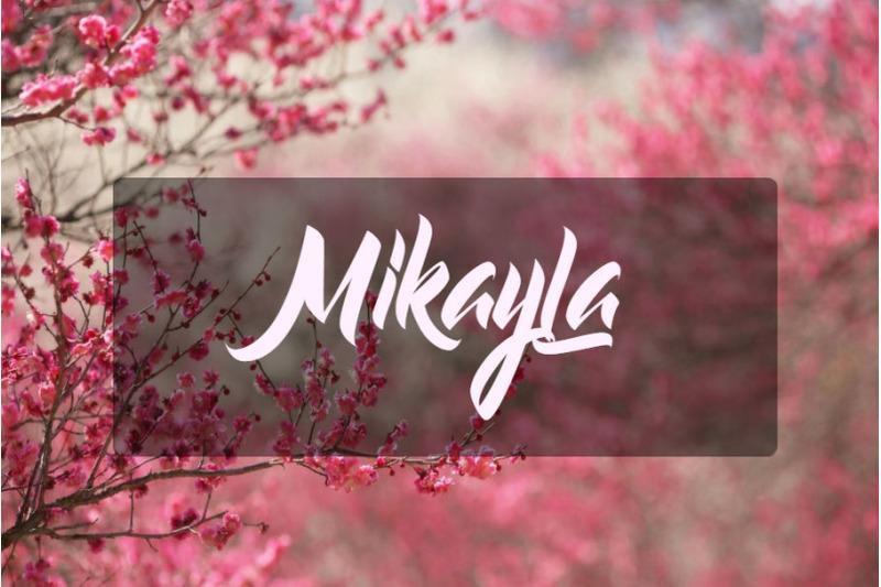 mikayla-font