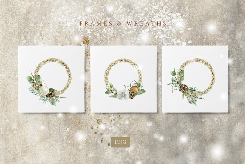merry-christmas-watercolor-set