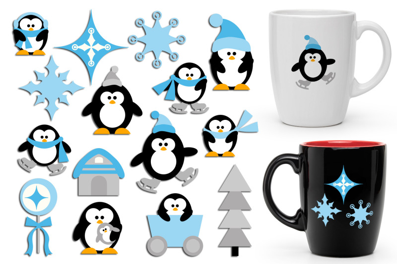 winter-penguins