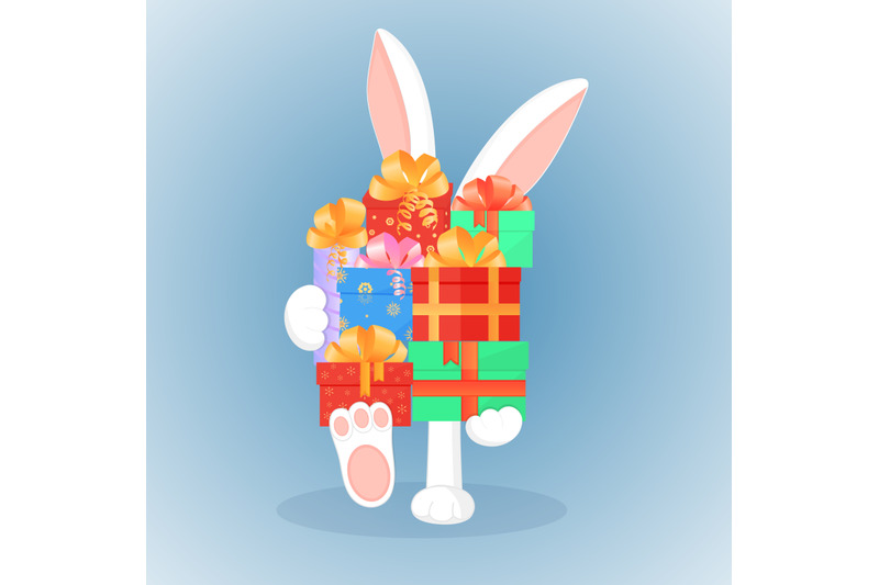 easter-bunny-keeps-a-big-mountain-of-gifts