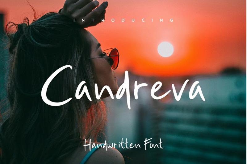 candreva-handwritten-font