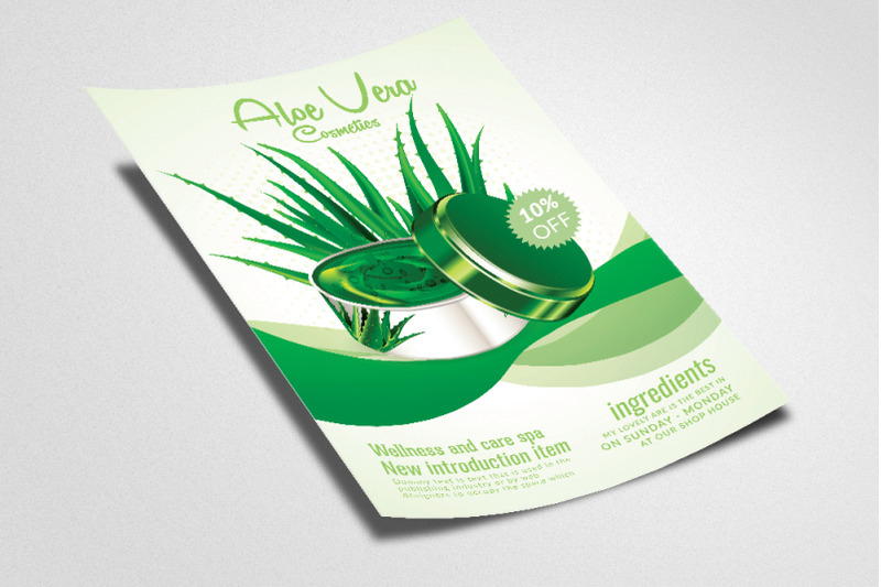 organic-beauty-skin-care-product-flyer