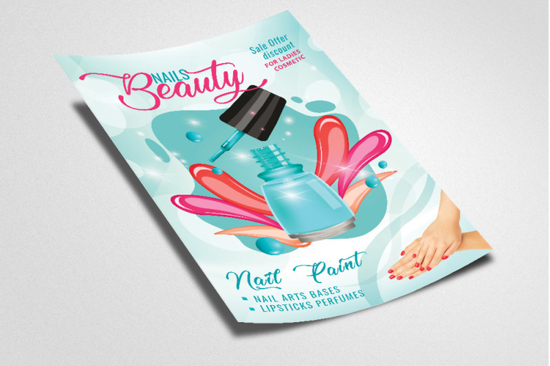 cosmetic-product-flyer-template