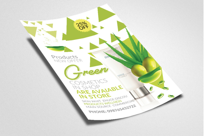 organic-herbal-beauty-product-flyer-poster