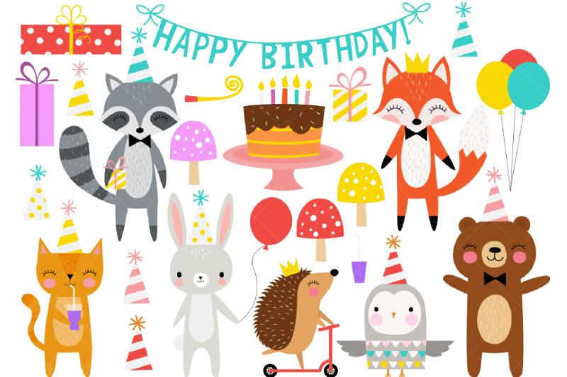 birthday-party-animals-clipart