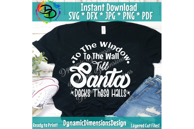 santa-svg-funny-christmas-svg-from-the-window-to-the-wall-till-039-san