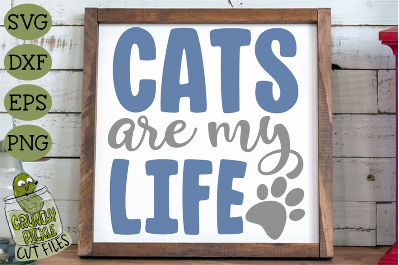 cats-are-my-life-svg-file
