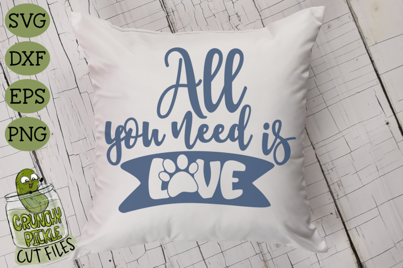 all-you-need-is-love-cat-paw-svg-file