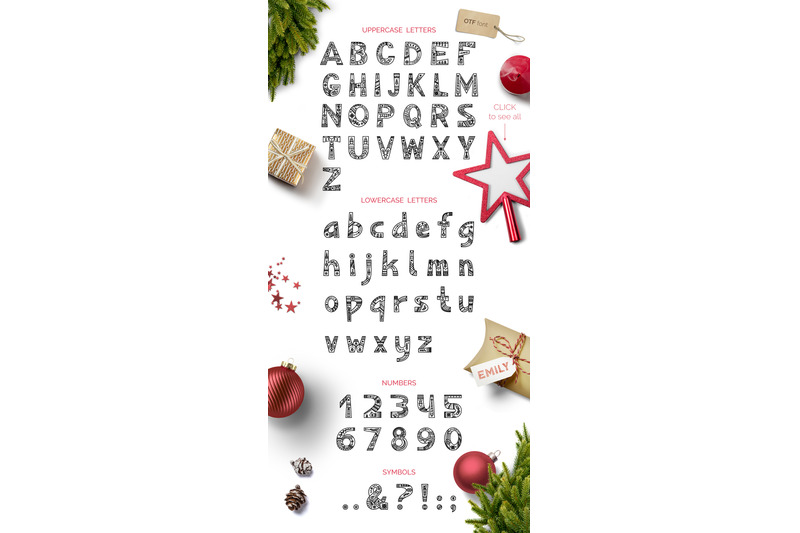 christmas-font-clipart-patterns
