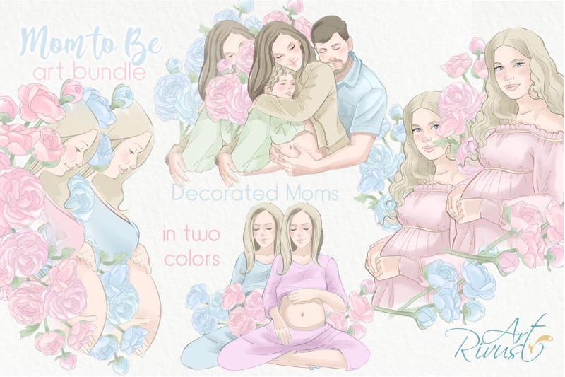 pregnancy-mom-to-be-bundle-boy-girl-baby-shower