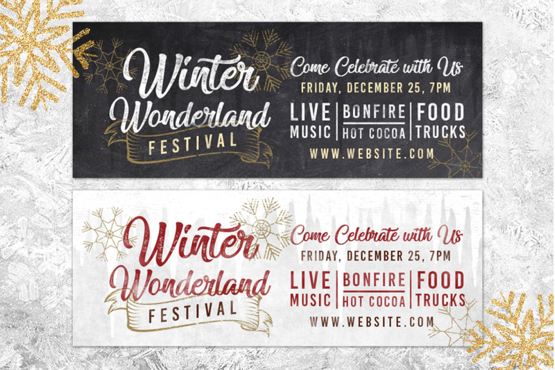 chalk-christmas-winter-wonderland-holiday-flyer-invite