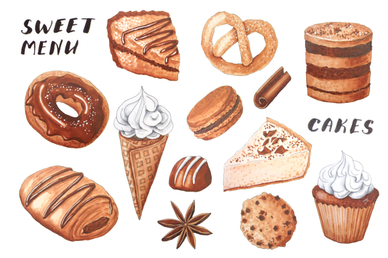 marker-bakery-goods-drawing