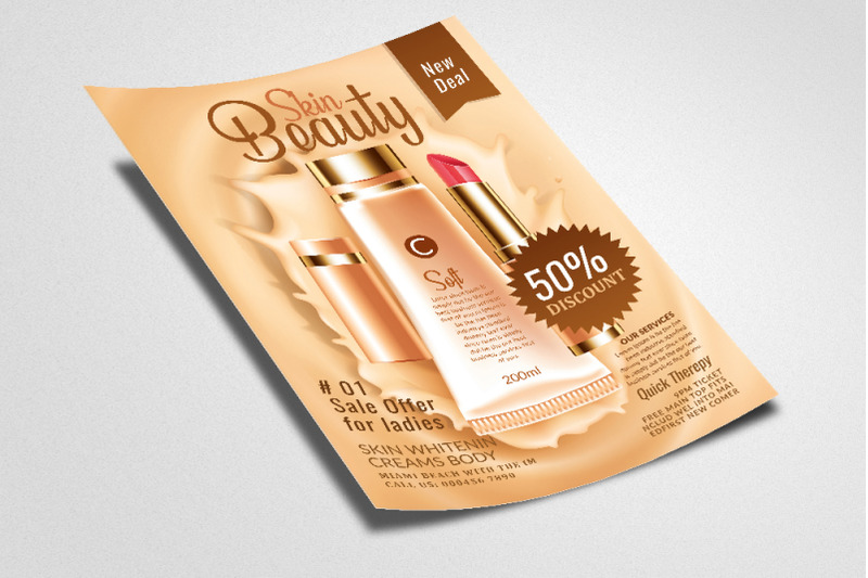 beauty-skin-care-product-flyer-poster
