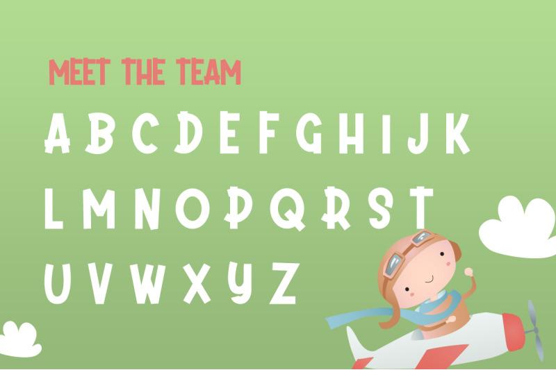 daydream-kids-font