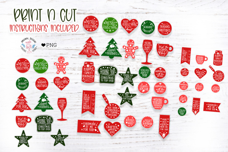 christmas-tag-stickers-and-labels