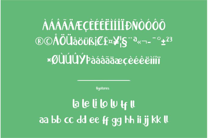 little-santa-font-merry-christmas-font