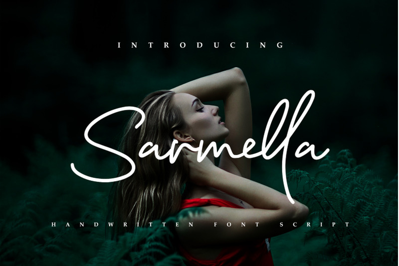 sarmella-handwritten-font-script