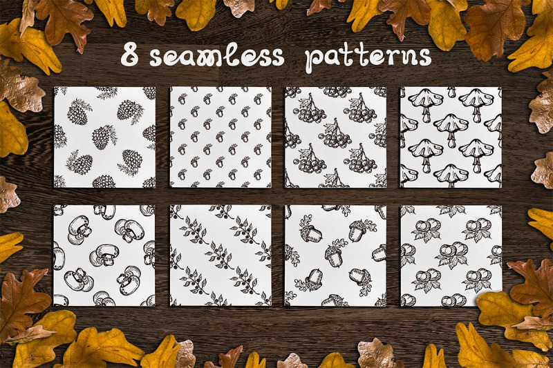 fall-elements-cards-and-patterns