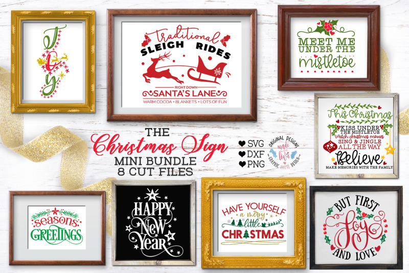 christmas-home-signs-cut-files