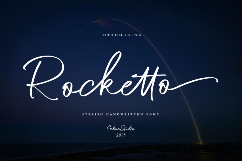 rocketto-stylish-handwritten