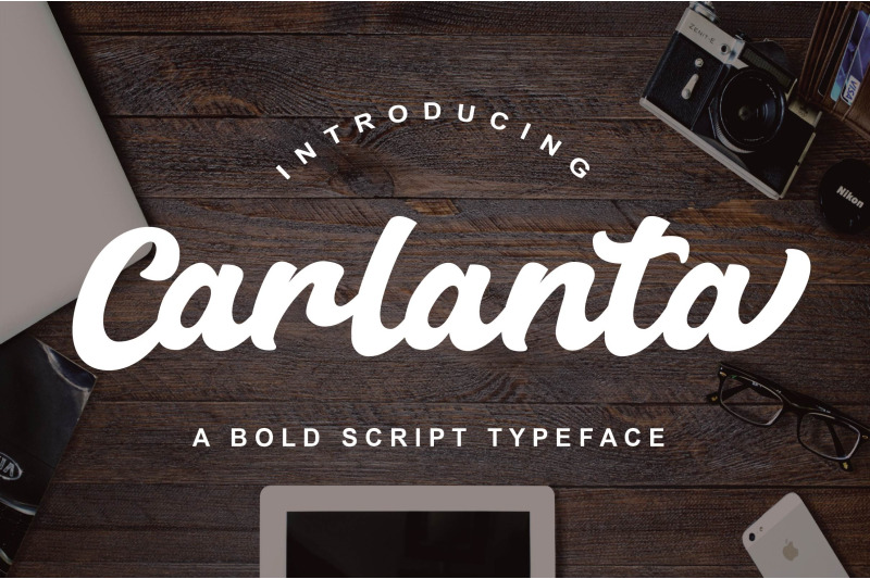 carlanta-bold-script