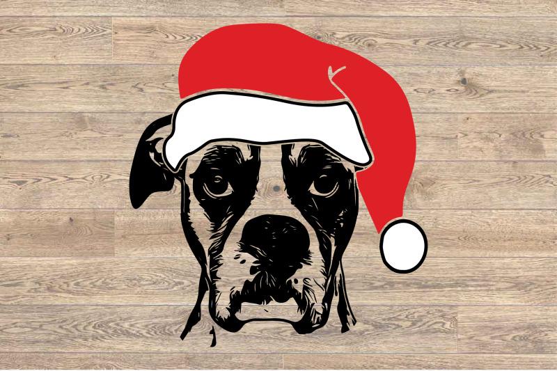 boxer-whit-christmas-hat-svg-santa-039-s-elf-santa-squad-1586s