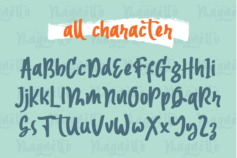 magnetto-font