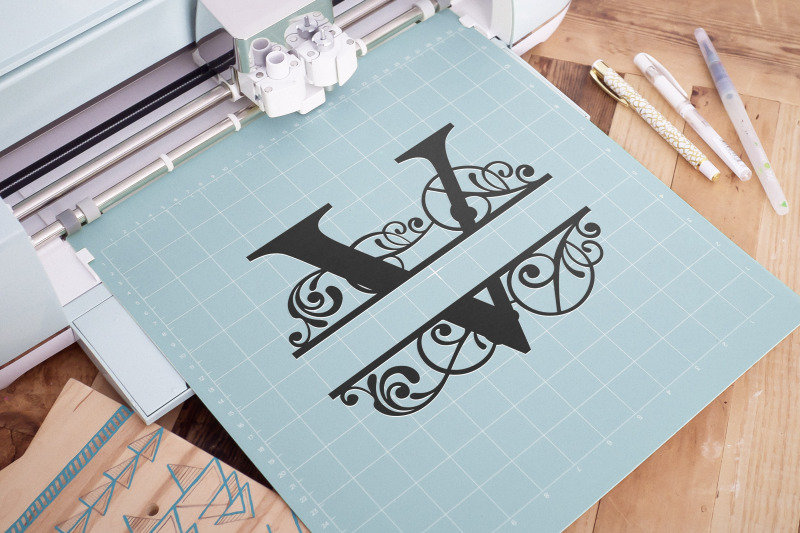 letter-v-split-monogram-svg-split-monogram-svg-letter-v-cricu