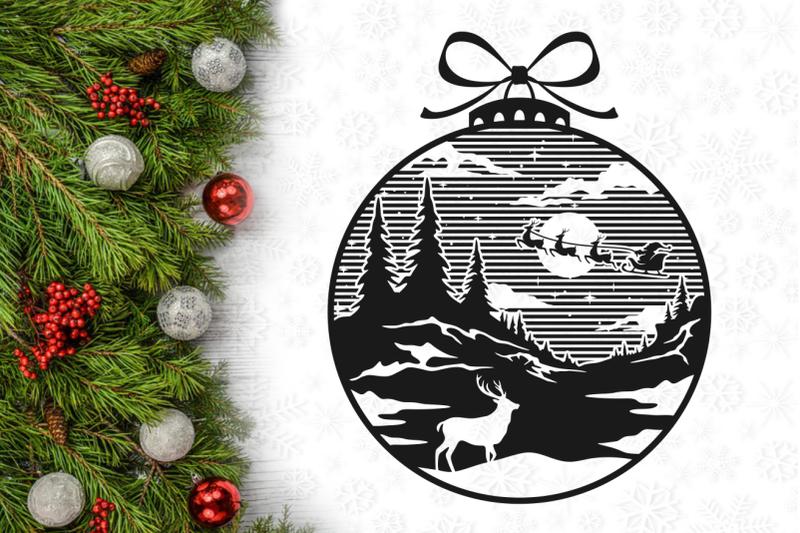 santa-reindeer-christmas-lightbulb-svg-design