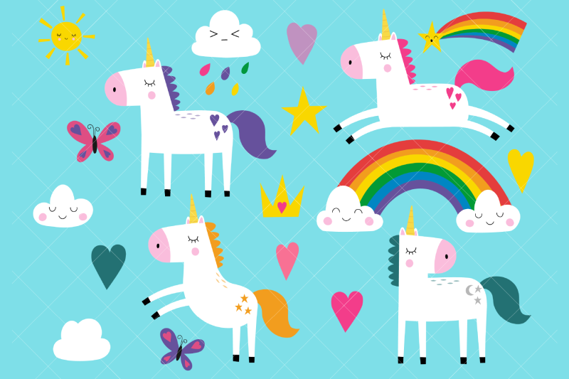 unicorns-clip-art