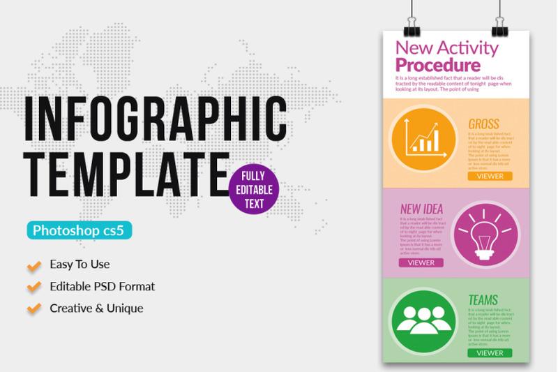 business-procedure-infographics-template
