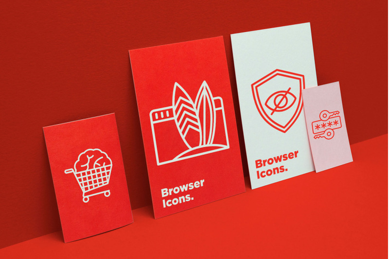 browser-16-thin-line-icons-set
