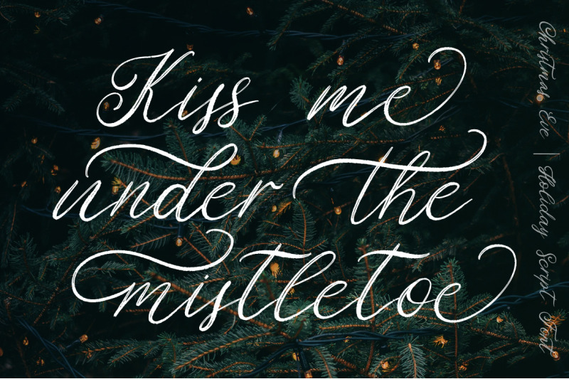 christmas-eve-holiday-script-font