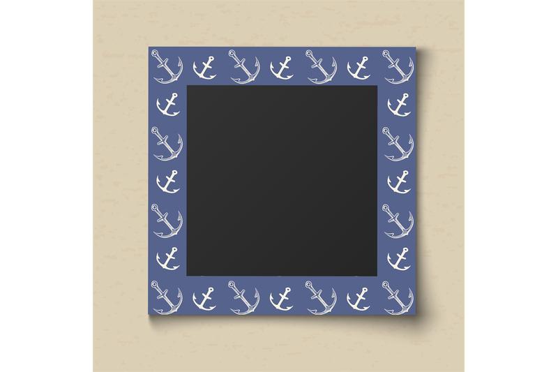 paper-color-photo-frame-boy-portrait-blue-sea-frame-for-memory-album