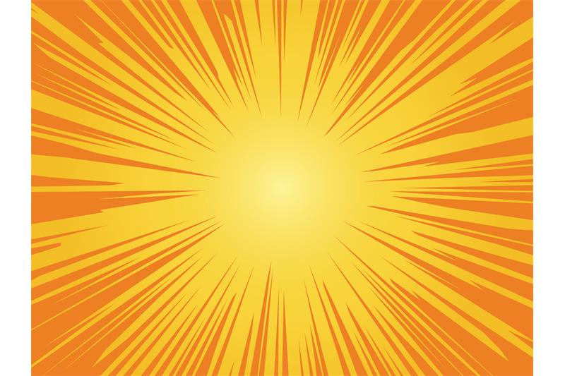 orange-sun-background-sunrise-vintage-circle-shiny-design-with-heatin