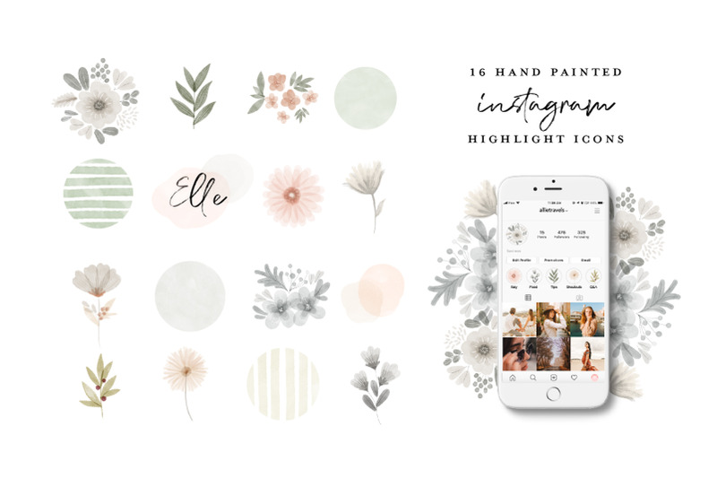 64-instagram-highlight-icon-bundle-watercolor-hand-painted