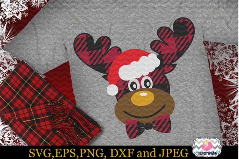 svg-dxf-eps-amp-png-2-styles-christmas-santa-buffalo-plaid-moose