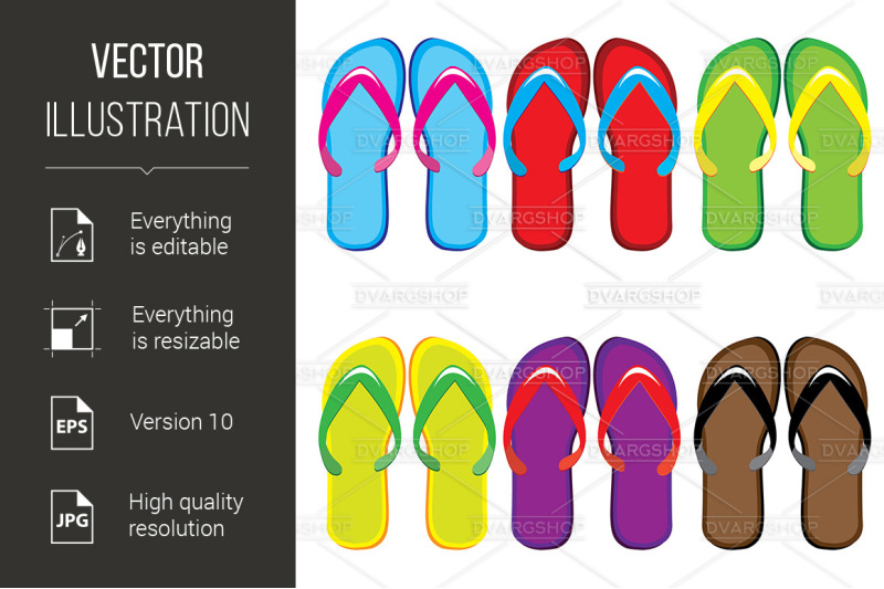 six-pairs-of-colorful-flip-flops