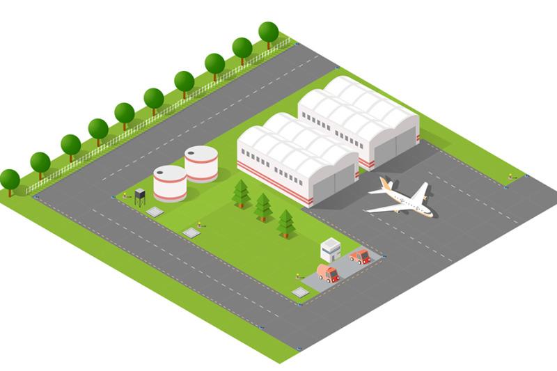 isometric-set-terminal-airport