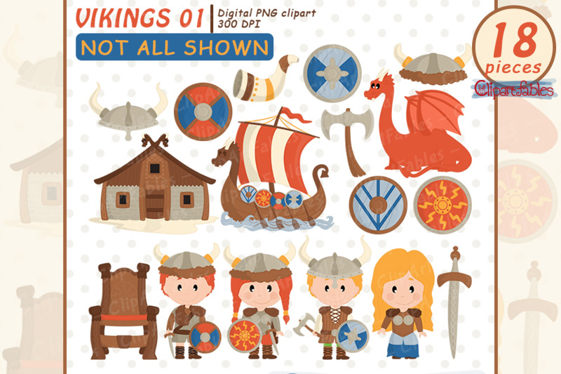 cute-viking-clipart-nordic-clip-art-scandinavian-folk-art