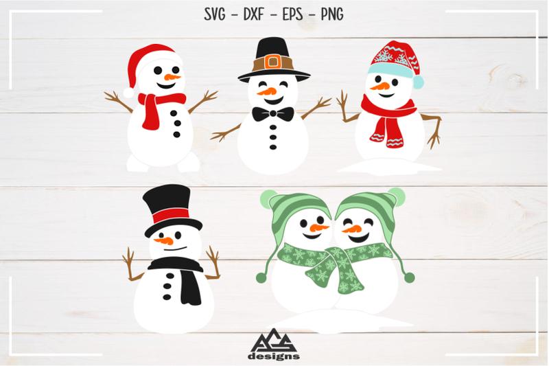 snowman-winter-packs-svg-design