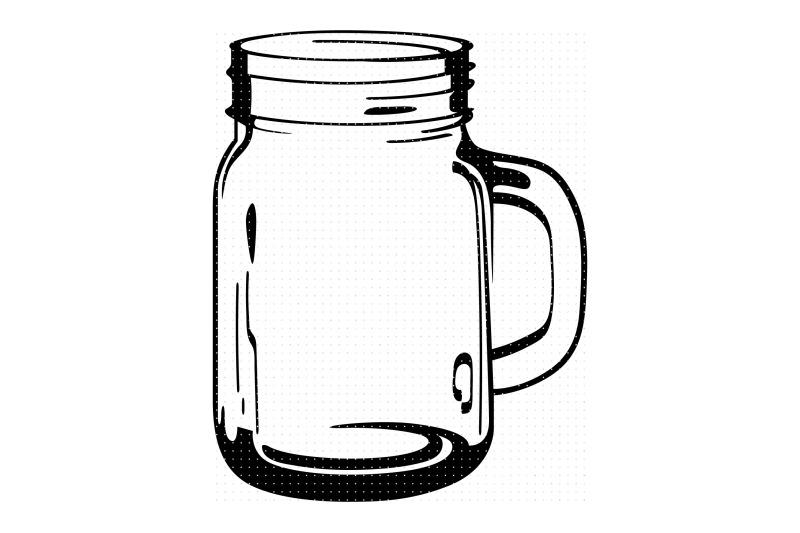 glass-mason-jar-svg-dxf-vector-eps-clipart-cricut-download
