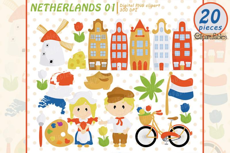 netherlands-clip-art-european-travel-party-cute-dutch-art