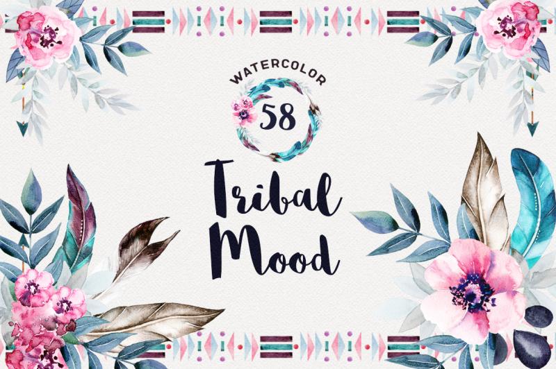 watercolor-tribal-mood