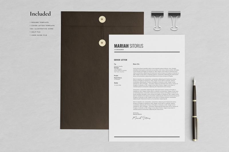 mariah-resume-template